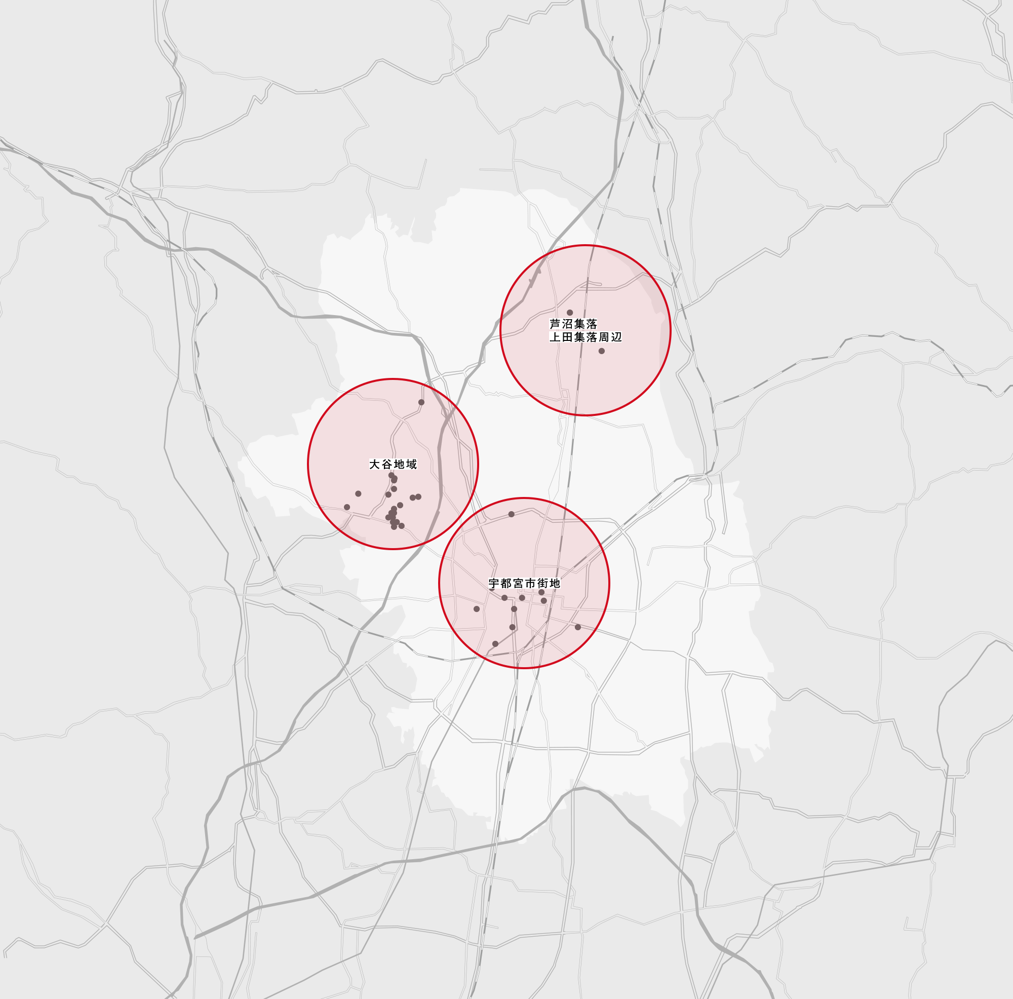 大谷石マップ