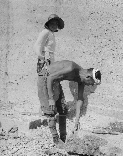 石切り場で働く人