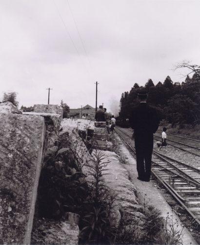 東武荒針駅(廃止前の最終車両)