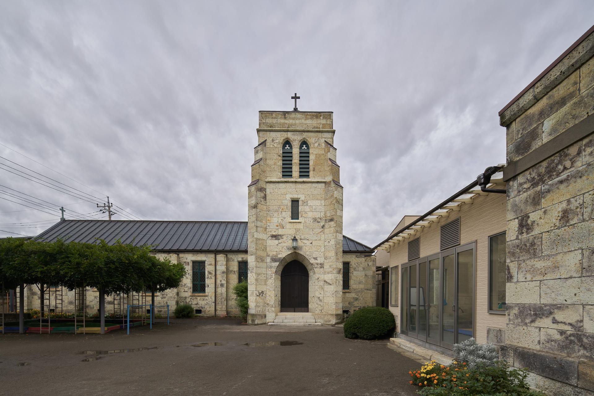 宇都宮聖ヨハネ教会聖堂