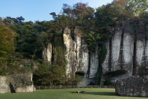 大谷の奇岩群(御止山)