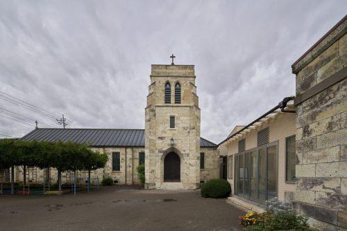 The Sacred Building of Utsunomiya St. John's Church