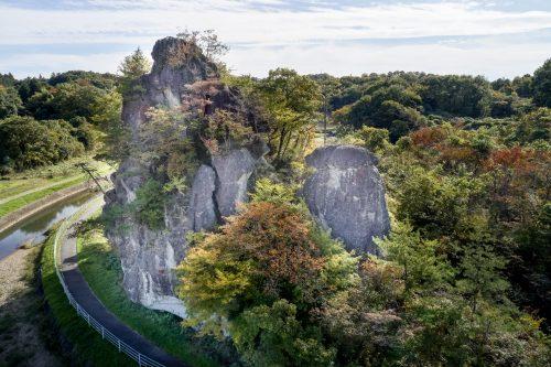 Oddly-shaped rocks of Oya (Koshiji Rock)