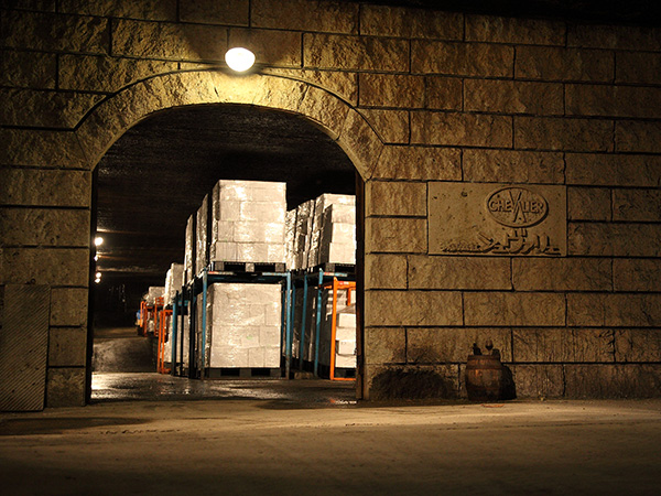 The stone warehouse that was adored by the god of wine